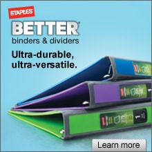 Staples Better Binders