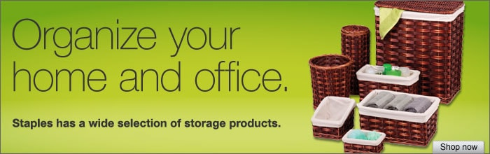 Organize your home or office!