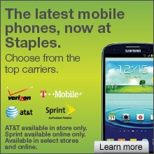 The Latest Mobile Phones, Now at Staples