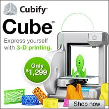 Cube 3d printer